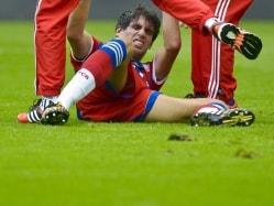 Bayern Munich's Javi Martinez Out Until 2015