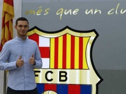 Vermaelen Fit to Start Barcelona Career