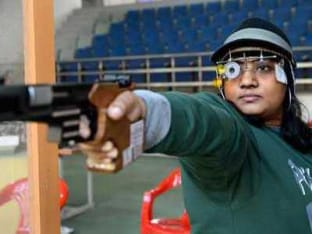 A file photo of Commonwealth Games medallist Anisa Sayyed.
