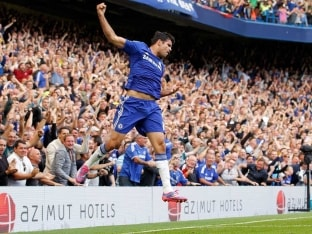 Diego Costa Likely to Start Against Manchester United