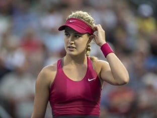 Eugenie Bouchard Signs Up With Top Modelling Agency