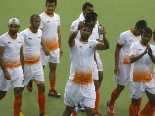Indian Men's Hockey Team Open Rio Olympics Campaign Against Ireland