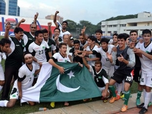 Pakistan Stun Arch-Rivals India, Level Friendly Football Series