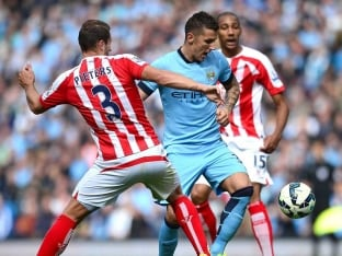EPL Champions Manchester City F.C. Suffer Shock Defeat to Stoke City at Home