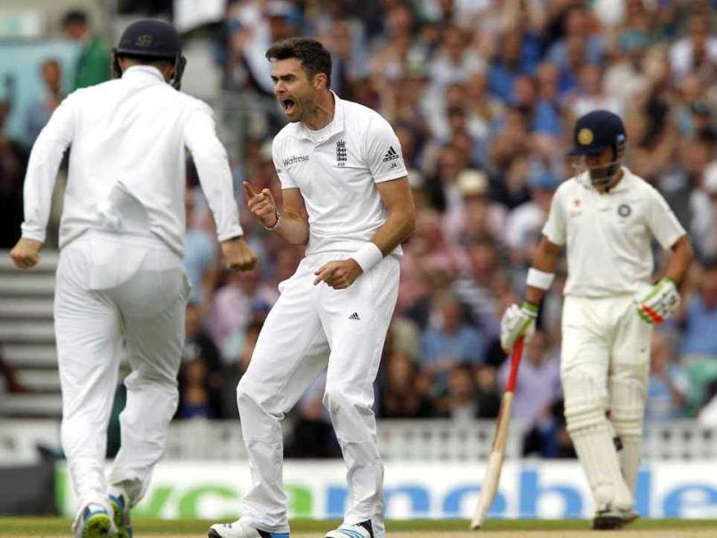 Anderson Vijay Wicket Oval