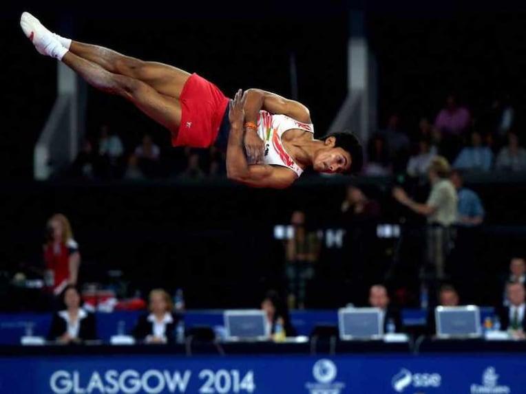 Ashish Kumar Gymnastics