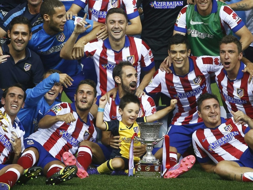 Atletico Madrid trophy
