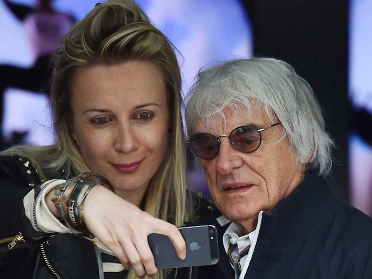 Bernie Ecclestone selfie
