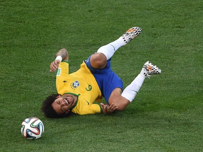 Brazil Marcelo dropped