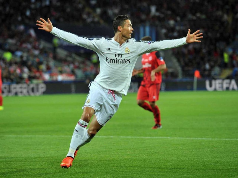 Cristiano Ronaldo Real Madrid Super Cup