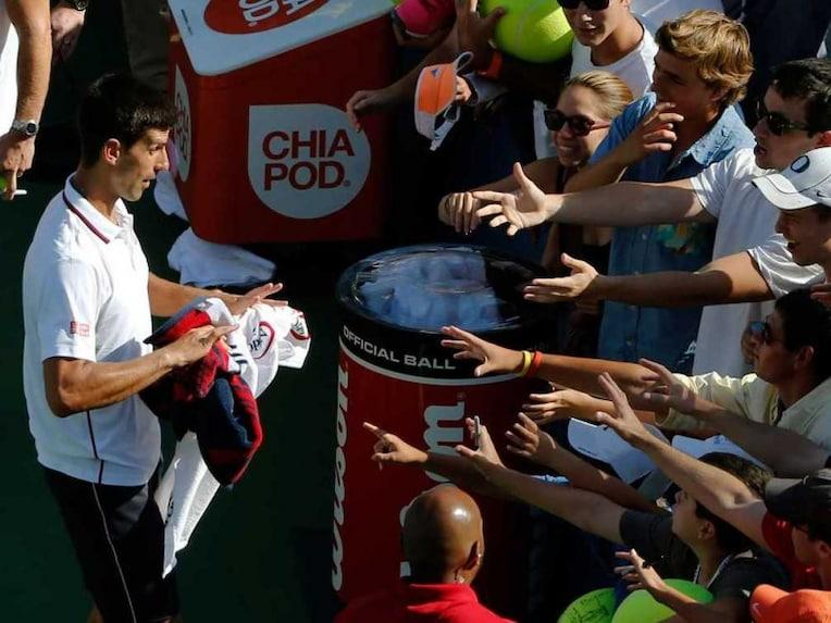Djokovic autograph