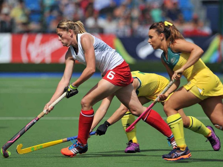 England Australia women hockey
