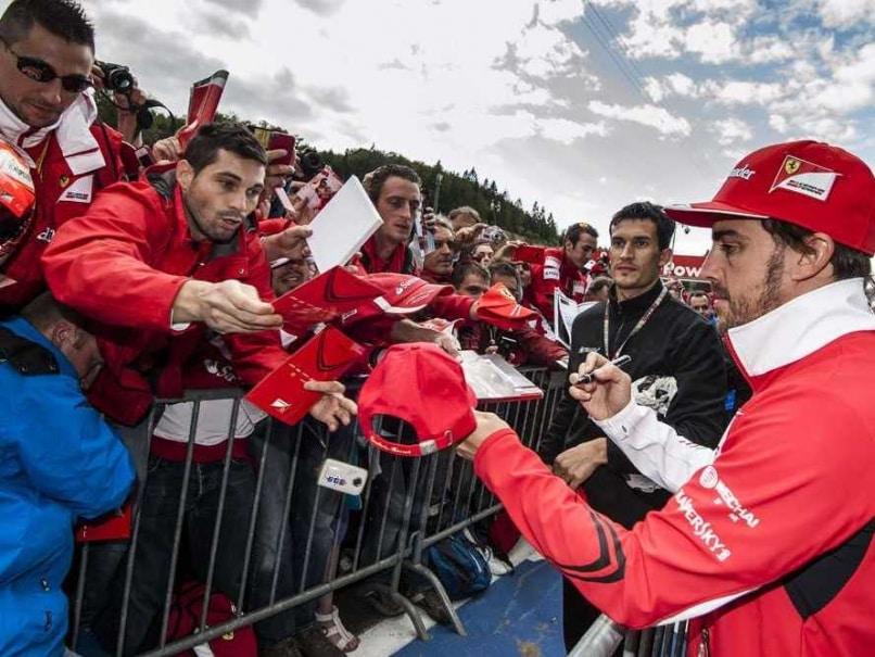 Fernando Alonso Belgian GP
