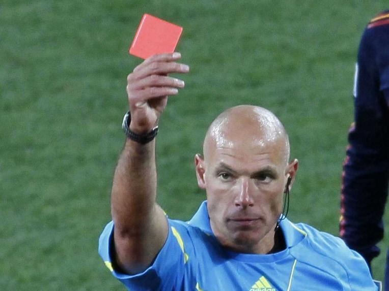 Howard Webb England referee