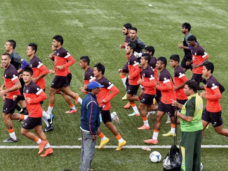 India-football-practice