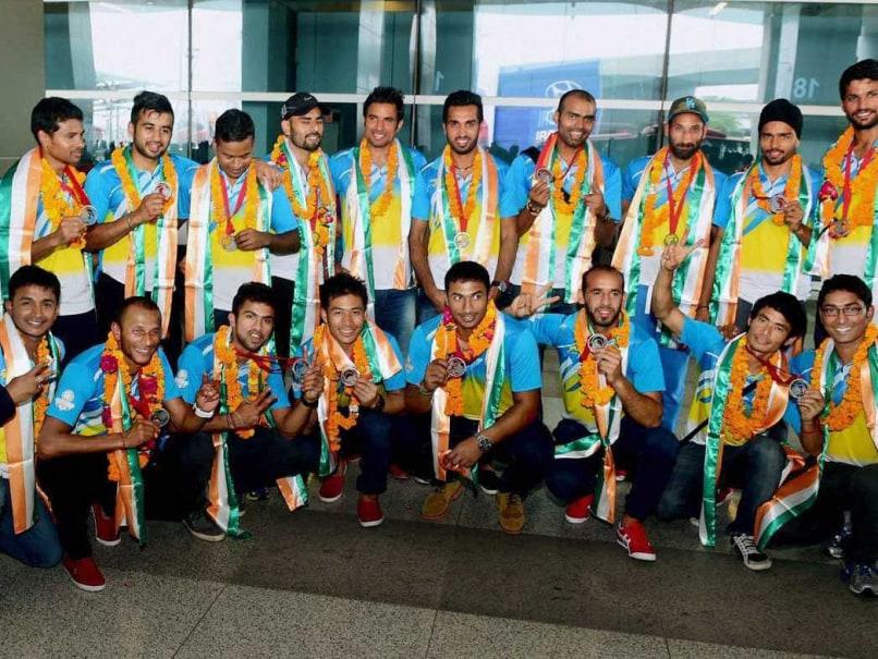 Indian hockey team 2014