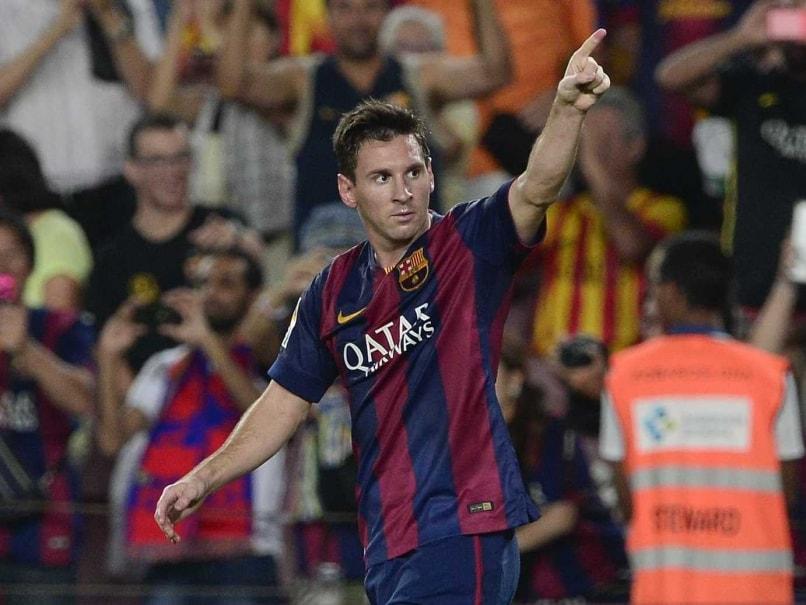 Lionel Messi Barca opener