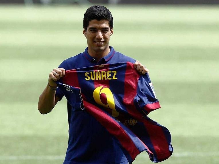 Luis Suarez Barcelona 9