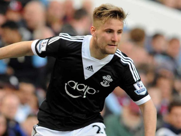 Luke Shaw Southampton Colours