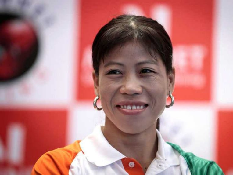 Mary Kom File Pic