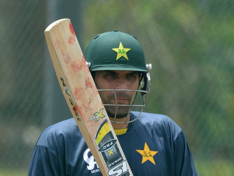We Will be Positive for World Cup Despite Saeed Ajmal Suspension: Misbah-ul-Haq