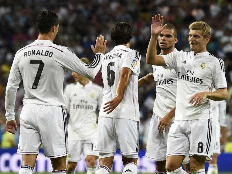 Real Madrid celebrate