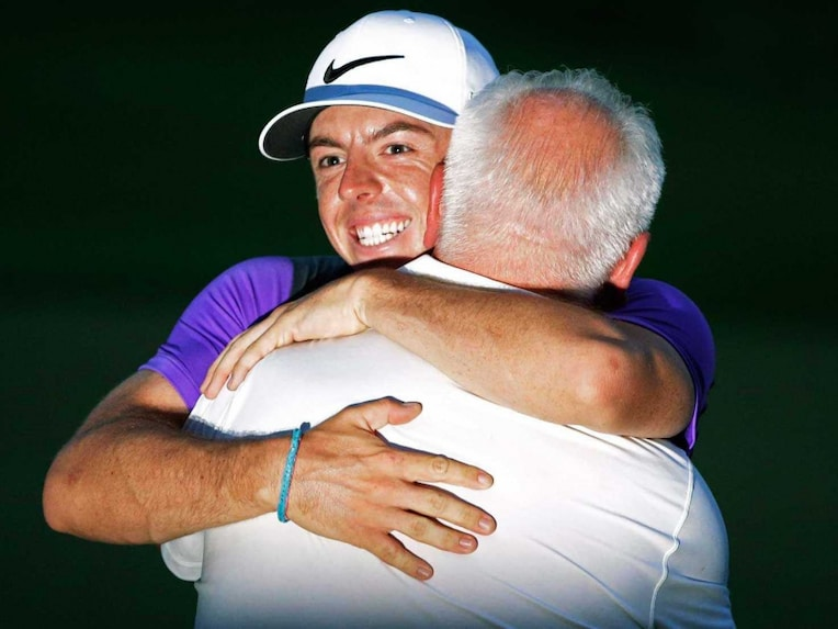 Rory McIlroy father