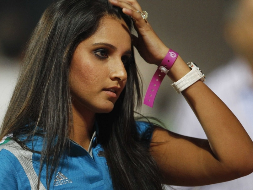 Sania Mirza Ice Bucket
