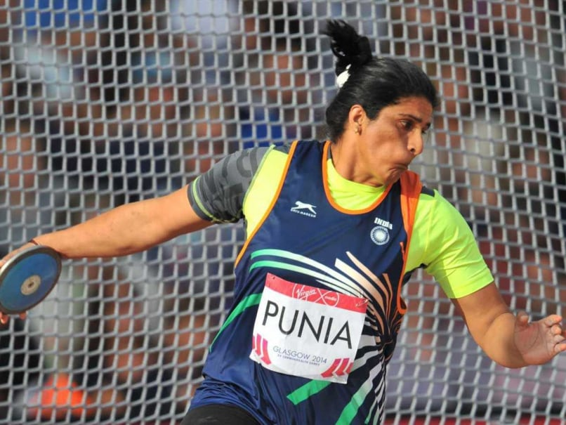 Indian Discus Thrower Seema Punia Qualifies For Rio Olympics