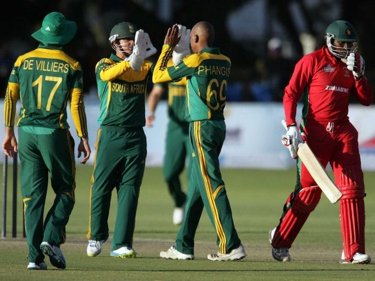 South Africa Zimbabwe 1st ODI