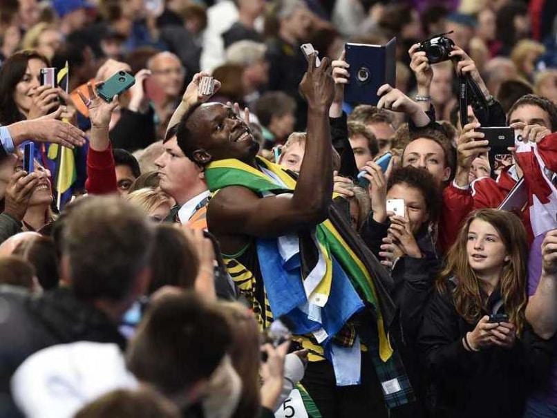 Usain Bolt Selfie