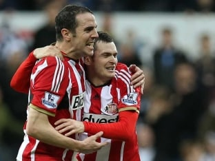 EPL: Adam Johnson's Late Goal Gives Sunderland Victory Over Newcastle United