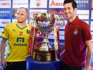 ISL: Atletico de Kolkata, Kerala Blasters Slug it out to Become Inaugural Champions