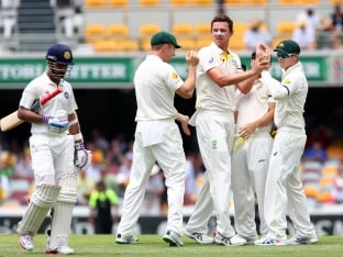 2nd Test: Josh Hazlewood, Brad Haddin Star as India All Out for 408