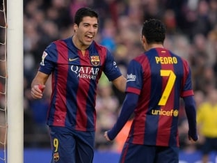 Star Front Three Shining Brightly for Barcelona