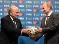 Russian President Vladimir Putin Inherits World Cup Baton, Promises 'Unforgettable' 2018