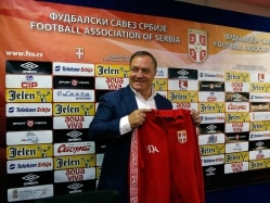 Dick Advocaat Introduced as Serbia Soccer Coach