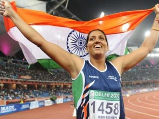 Krishna Poonia Main Attraction at Indian Grand Prix Athletics