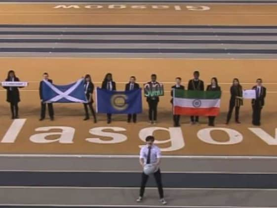 Indian Flag Upside Down in Commonwealth Games 2014 Official Song Video