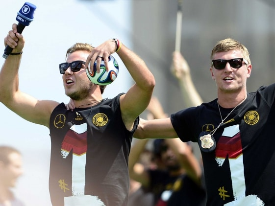 Germany's Celebration Dance Branded as 'Tasteless'