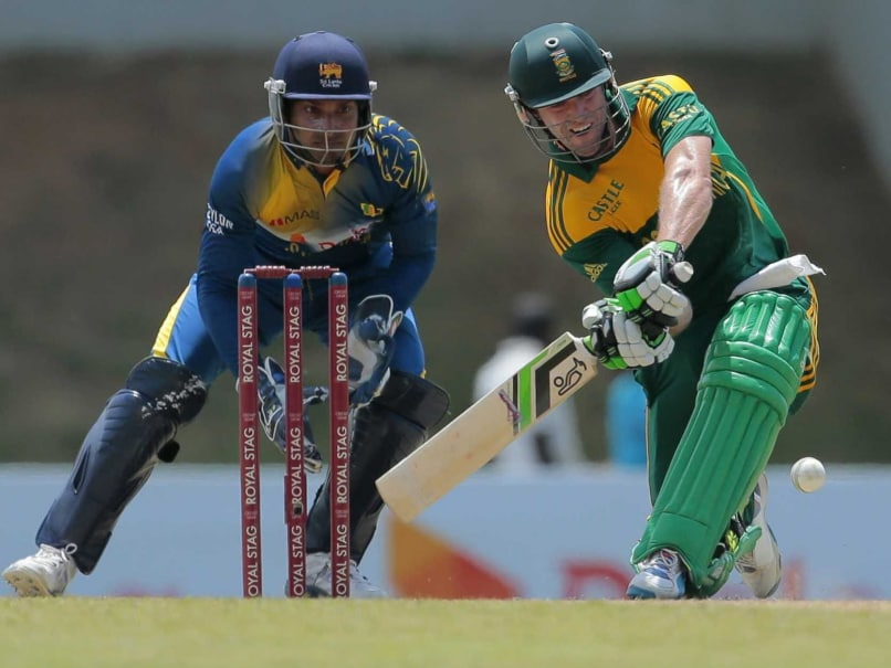 De Kock, De Villiers Tons Power South Africa to Series Win Over Sri Lanka