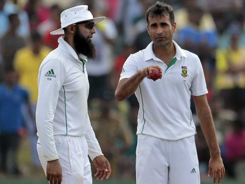 Hashim Amla Heaps Praise on Struggling Imran Tahir