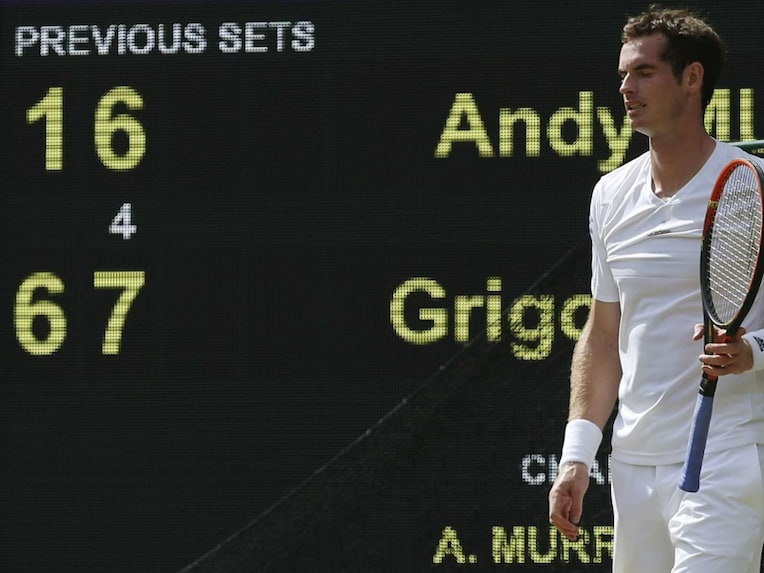 Andy Murray exit