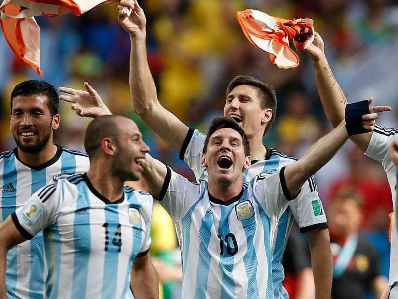 Argentina Team celebration