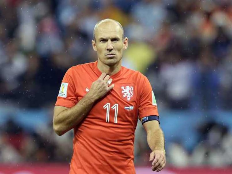Scolari Hails Robben as Star of the World Cup