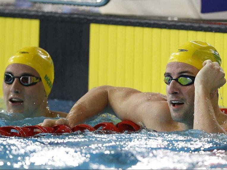 Australia swimming CWG