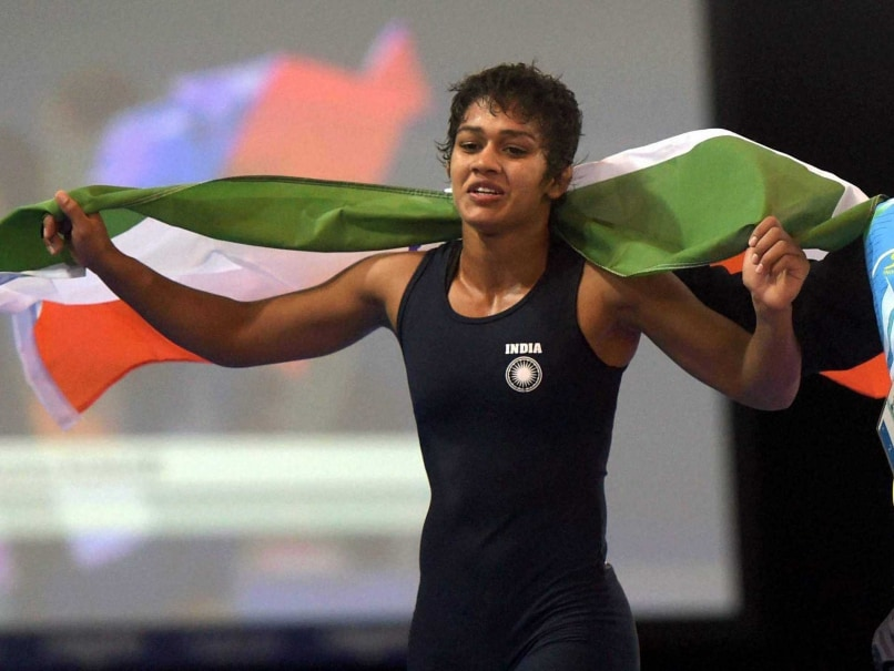 CWG 2014: Babita Wrestles to Gold in Women's 55kg Freestyle Wrestling
