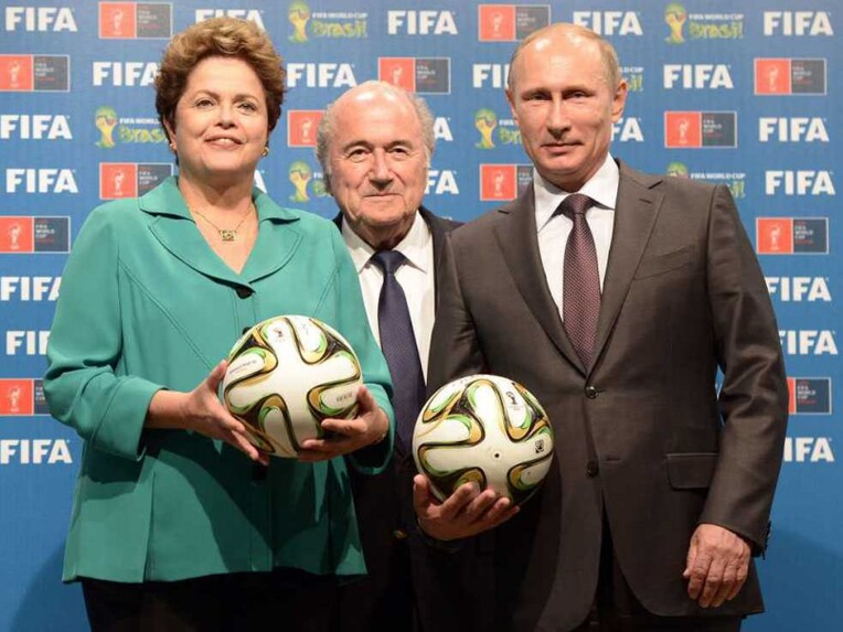 Brazilian President With Putin