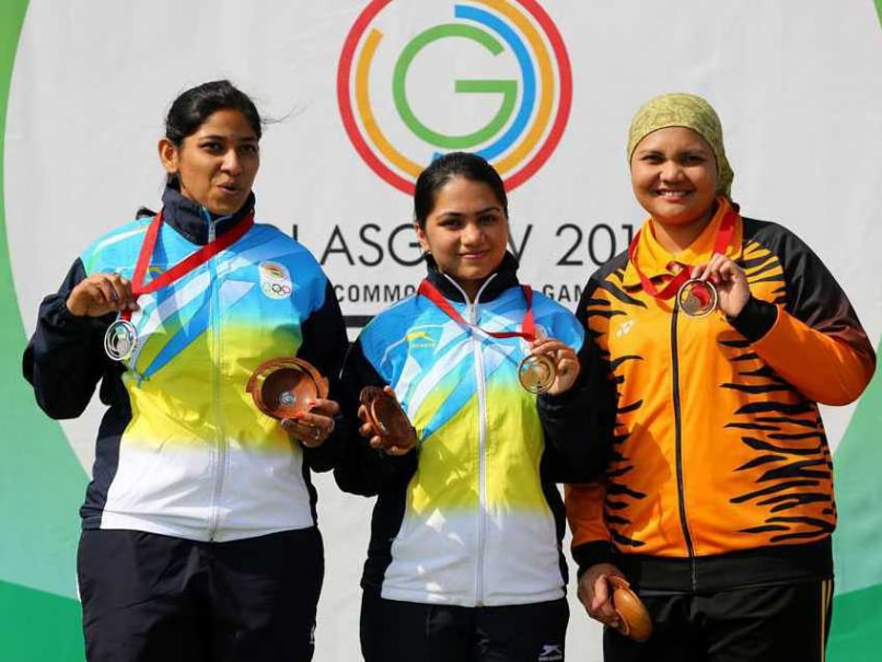 India's Apurvi Chandela Wins Gold, Ayonika Paul Gets Silver in 10m Air Rifle
