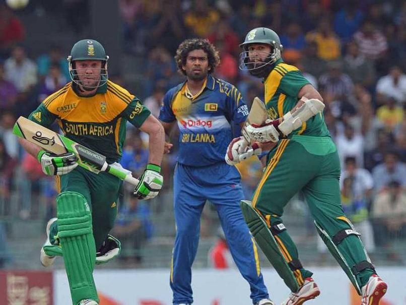 AB de Villiers and Hashim Amla